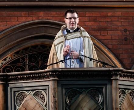 St mary magdalene academy islington london christmas service at union chapel