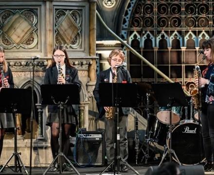 St mary magdalene academy islington london christmas service at union chapel 3