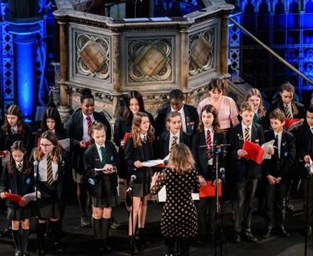 St mary magdalene academy islington london christmas service at union chapel student choir