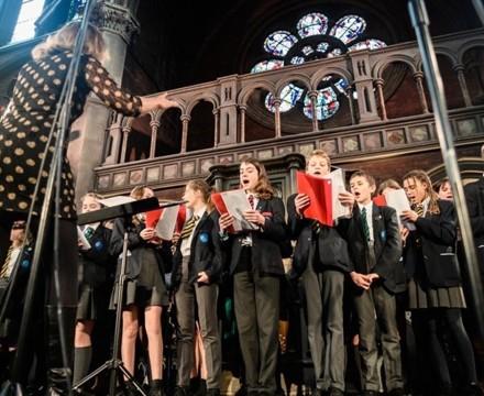 St mary magdalene academy islington london christmas service at union chapel 8