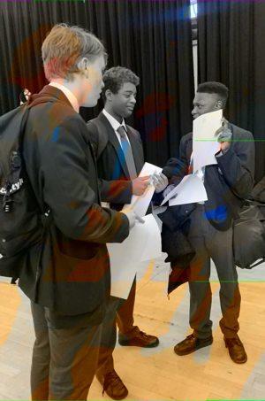 St mary magdalene academy islington year 11 mock results day 17