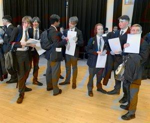 St mary magdalene academy islington year 11 mock results day 14
