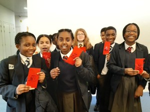 St mary magdalene academy smma islington london students enjoy chinese new year 2020