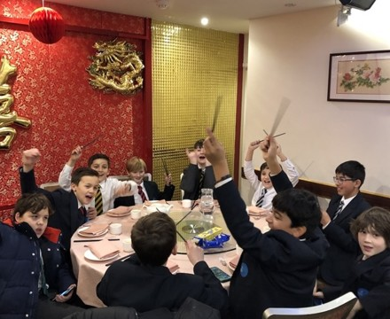 St mary magdalene academy smma islington london students enjoy lunch in chinatown for chinese new year 2020