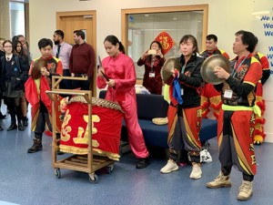 St mary magdalene academy smma islington london students enjoy the drums and music for our lion dance chinese new year 2020