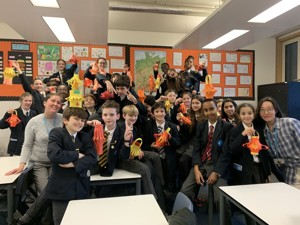 St mary magdalene academy smma islington london students celebrate chinese new year