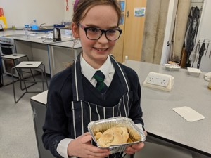 St mary magdalene academy islington latin club the finished cheese cake