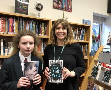 St Mary Magdalene Academy Islington, Author book signing for World Book Day 2020