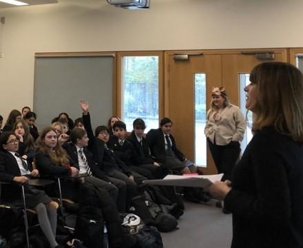 St Mary Magdalene Academy Islington, Author Visits for World Book Day 2020