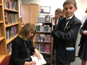 St Mary Magdalene Academy Islington, pupil and author, World Book Day 2020