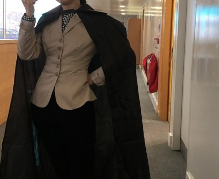 St Mary Magdalene Academy Islington, Staff Dress As Book Characters for World Book Day 2020, Sherlock Holmes