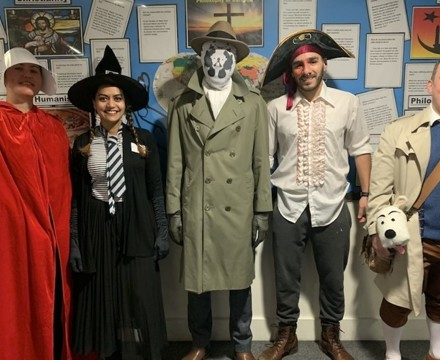 St Mary Magdalene Academy Islington, Staff Dress As Book Characters for World Book Day 2020
