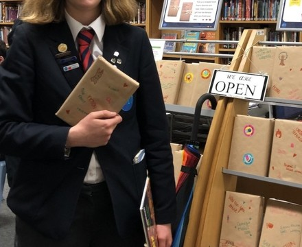 St Mary Magdalene Academy Islington, Students Choose a Blind Date Book for World Book Day 2020