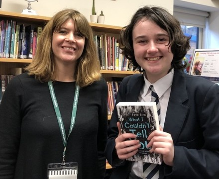 St Mary Magdalene Academy Islington, Students get their books signed by visiting author for World Book Day 2020