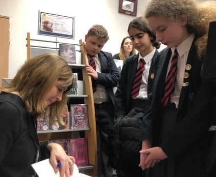 St Mary Magdalene Academy Islington, Students meet visiting author for World Book Day 2020