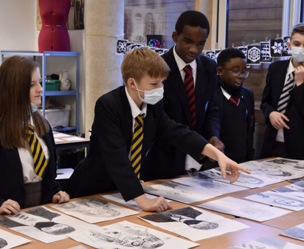 St mary magdalene academy secondary school islington london year 9 liberal arts exhibition 10