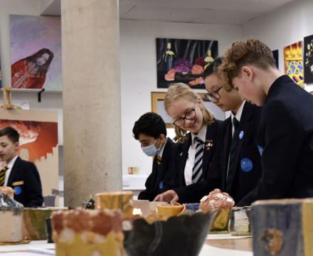 St mary magdalene academy secondary school islington london year 9 liberal arts exhibition 11