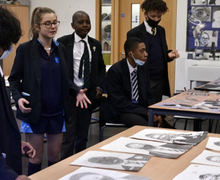 St mary magdalene academy secondary school islington london year 9 liberal arts exhibition 13