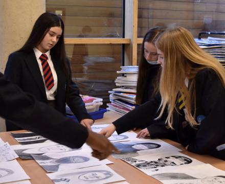 St mary magdalene academy secondary school islington london year 9 liberal arts exhibition 14