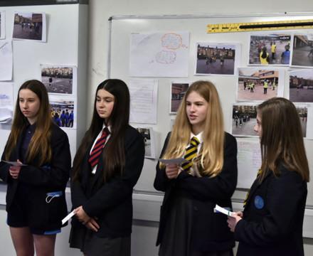 St mary magdalene academy secondary school islington london year 9 liberal arts exhibition 24