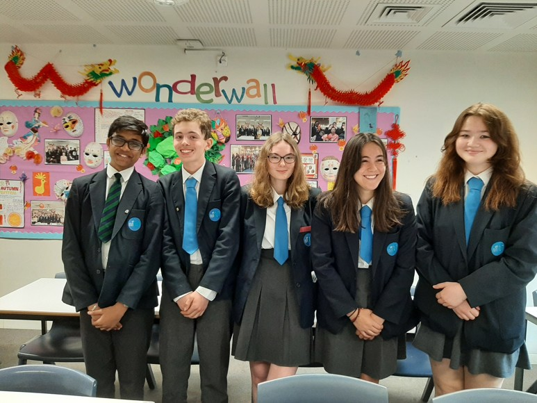 SMMA Islington Year 10 Mandarin Students Winning Team