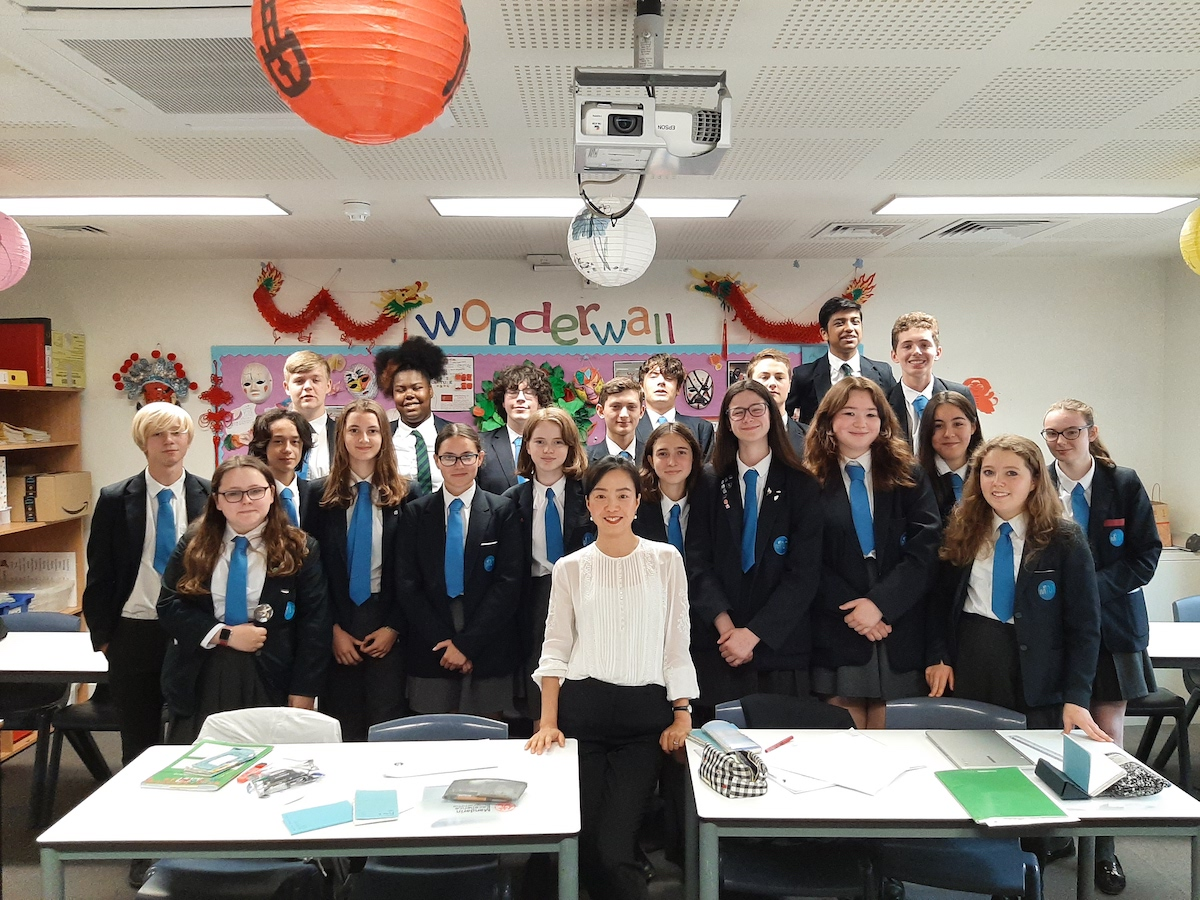SMMA Islington Year 10 Mandarin Students