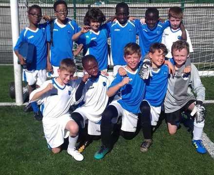 Year 5 and 6 boys football