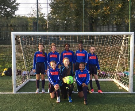 Y7 girls c i football tournament