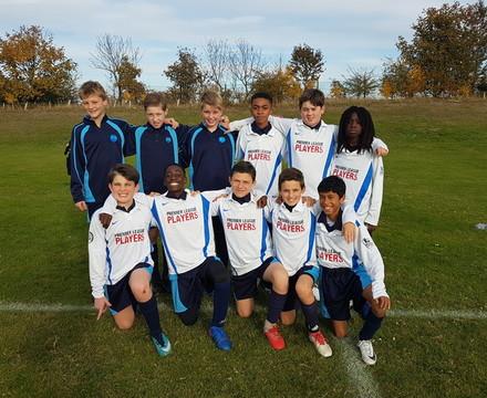 Year 7 football vs Glyn School