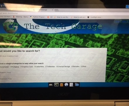 SMMA Sixth Form EPQs, Tech website