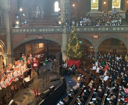 Christmas Choir, St Mary Magdalene Academy Islington