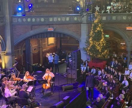 String Quartet, Christmas Concert, St Mary Magdalene Academy Islington