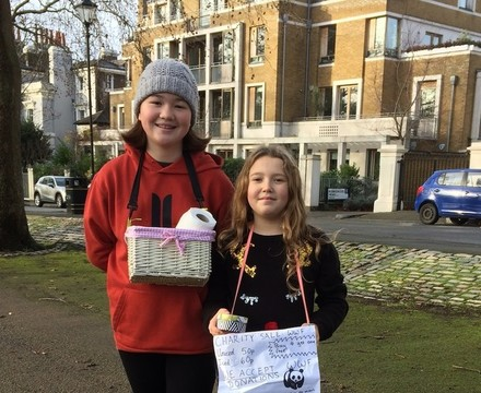 Christmas Fundraising at St Mary Magdalene Academy Islington