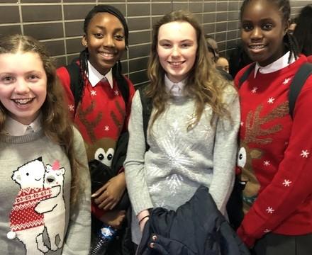 Christmas Sweaters, St Mary Magdalene Academy, Islington