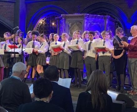 Christmas Concert choir St Mary Magdalene Academy Islington
