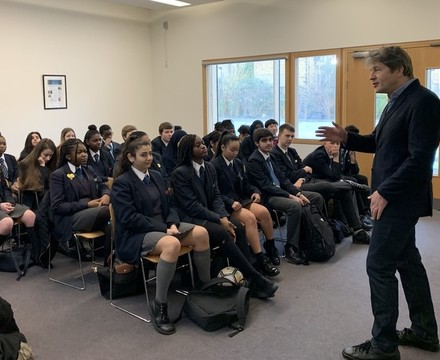 St mary magdalene academy islington secondary school students enjoying visit by leo johnson