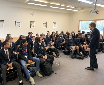 Students enjoying visit by leo johnson st mary magdalene academy islington secondary school