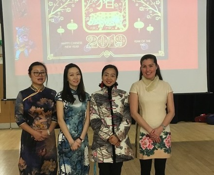 SMMA Chinese New Year Assembly February 2019
