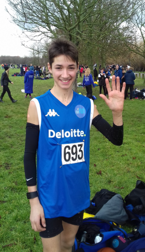 Smma student Bedo is selected for national cross country championships