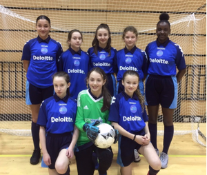 SMMA Year 7 Girls Football team