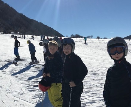 St Mary Magdalene Academy Islington, students on ski trip 2019