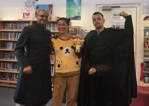 St Mary Magdalene Academy Islington World Book Day 2019 characters