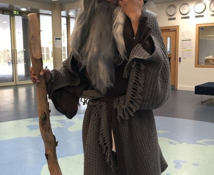 St Mary Magdalene Academy Islington World Book Day: Gandalf