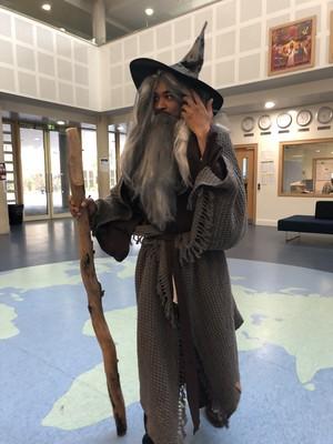 St Mary Magdalene Academy Islington World Book Day: Gandalf