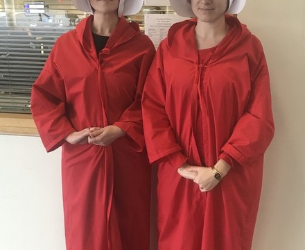 St Mary Magdalene Academy Islington World Book Day 2019: handmaids