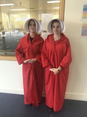 St Mary Magdalene Academy Islington World Book Day 2019: handmaids