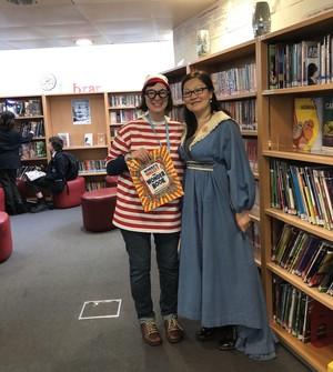 St Mary Magdalene Academy Islington World Book Day 2019 library