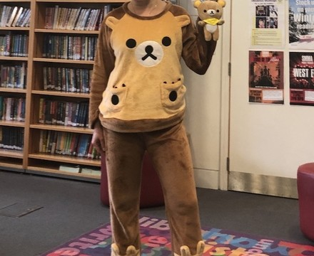 St Mary Magdalene Academy Islington World Book Day 2019: Rilakuma