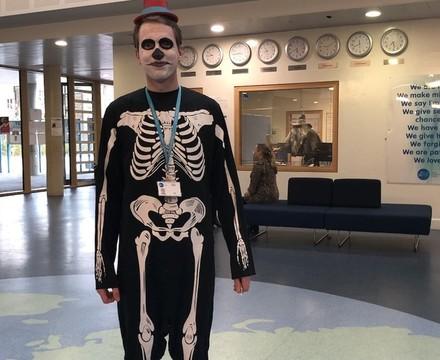 St Mary Magdalene Academy Islington World Book Day 2019 staff costumes