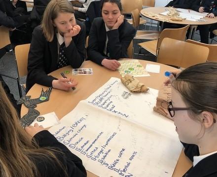 St Mary Magdalene Academy Islington World Book Day 2019 student workshop